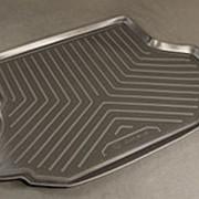 Коврик в багажник Kia Carens 2002-2006 (полиуретановый с бортиком) фото