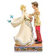 "Статуэтка ""Синдерелла и Принц (Жили они долго и счастливо)"" 11х15,5х7,5см. арт.4056748 Disney фото"