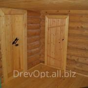 Двери деревянные для бань и саун фото