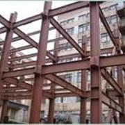 Монтаж металлоконструкций фото