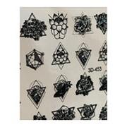 Anna Tkacheva, 3D-слайдер Crystal №453 «Цветы. Геометрия» фото