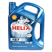 Масло моторное Shell Helix HX7 5W-30 фото