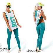 Женский спортивный костюм-тройка Just Do It ментол фото