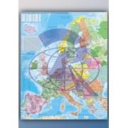 Карта настенная с держателем. Европы, Мира, отдельных стран. фото