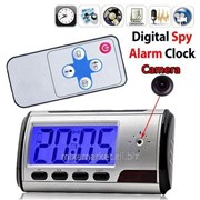 Видео регистратор (часы с камерой)и детектор движения фото