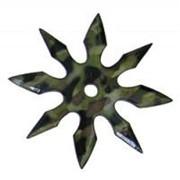 Метательная звезда Сюрикен 8 камуфляж фото