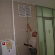 Испытания систем дымоудаления. фото