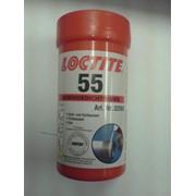 Нить герметизирующая для газа и питьевой воды Loctite 55 фото