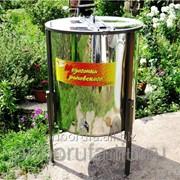 Медогонка Грановского 4ДН 220В+ручной привод фото