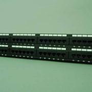Патч панель Cat6e, 48 портов фото