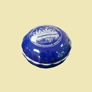 Шкатулка Ракушка под ладан (коб.гл., декор-вид серебро) КЕ5446 фото