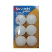 Теннисные шарики Sponeta 1star фото