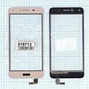 Сенсорное стекло (тачскрин) для Huawei Honor 5,Honor play 5, Y5 II золотое, Диагональ 5, 1280x720 (SD+) фото