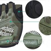 Тактические перчатки Mechanix M-Pact Covert woodland фото