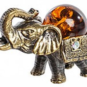 "Фигурка ""Африканский слон"" 2 см. арт.AM-204 фото"