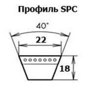 Ремень УВ (SPC)-4250 фото