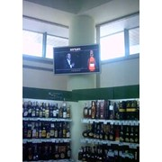 Размещение видеорекламы супермаркетах фото