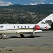 Аренда прокат продажа самолета Falcon 20 фото