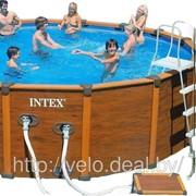 Каркасный бассейн Intex 28382 (54928) Sequoia Spirit Wood-Grain Frame Pool, 478x124см фото