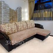«Романтик 3» угловой диван с механизмом трансформации «Тик-Так» фото