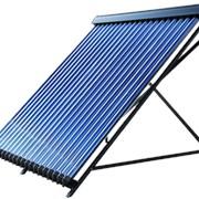 Установка солнечных батарей, коллекторов. фото