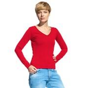Женская футболка с длинным рукавом StanFashion 32 Красный M/46 фото
