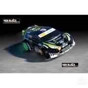 Модели автомобилей радиоуправляемые Ken Block Gymkhana Fiesta фото
