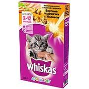 Whiskas 350г Сухой корм для котят от 1 до 12 месяцев Индейка и морковь фото