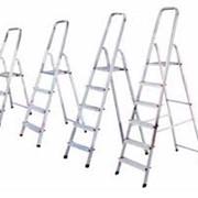 Подмости, лестницы приставные, переносные фото