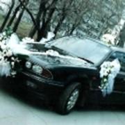 Украшения свадебных машин 5 фото