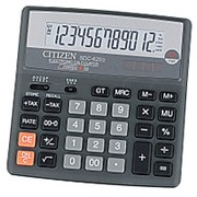 Калькулятор настольный Citizen SDC-620II, 12-разрядный фото