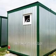 Модульный туалет из блок контейнера фото