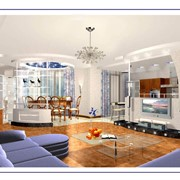 Выполнение визуализации дизайна интерьеров помещений в Алматы фото