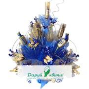 Аквамарин Подарочные композиции из конфет фото