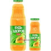 """Нектар с мякотью """"Будь здоров"""" тыквенно-яблочный, объем 0,75/0,25л фото"""