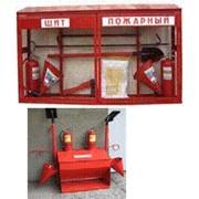 Пожарные шкафы, стенды , щиты фото