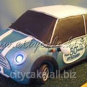 Торт машинка №0078 код товара: 6-0078 фото