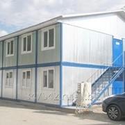 Модульное здание из 12 блок контейнеров фото