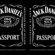 Обложка для паспорта Джек Дениелс фото