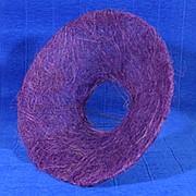Plastiflora Каркас для букета 25 см сизаль гладкий сиреневый фото