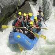 Рафтинг по реке Тургень фото