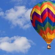 День рождения в воздухе на воздушном шаре