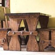 Мебель из массива: для баров, ресторанов, дома, квартиры. фото
