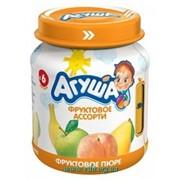 Пюре АГУША 115г фруктовое ассорти фото