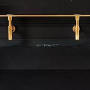Kerasan Waldorf Металлическая структура для раковины 150см, со стеклянной полочкой, цвет золото фото