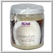 Кокосовое масло NOW Foods 100 % натуральное, 207 мл. фото