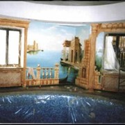 Художественная роспись стен и потолков 2 фото