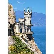 Пазл Castorland 1500 деталей Гнездо ласточки, Крым, средний размер элементов 1,6?1,4 см фото