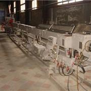 Линия ЛТГ 250 для производства канализационных и коллекторных гофрированных труб из полимеров фото