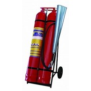Огнетушитель углекислотный ОУ-50 фото